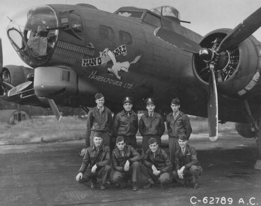 Man O War II crew