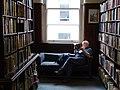 Man Reading in Linen Hall Library - Belfast - Northern Ireland - UK (28710524927).jpg