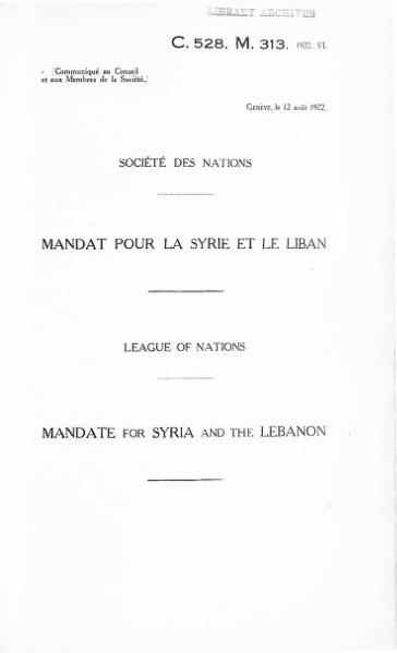 File:Mandate for Syria and the Lebanon.djvu