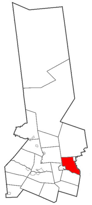 Manheim, New York - Location of Manheim in Herkimer County