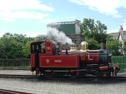 Manx steam locomotive