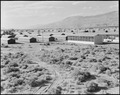 Manzanar Relocation Center, Manzanar, California. View of the Manzanar Relocation Center showing th . . . - NARA - 538161.tif