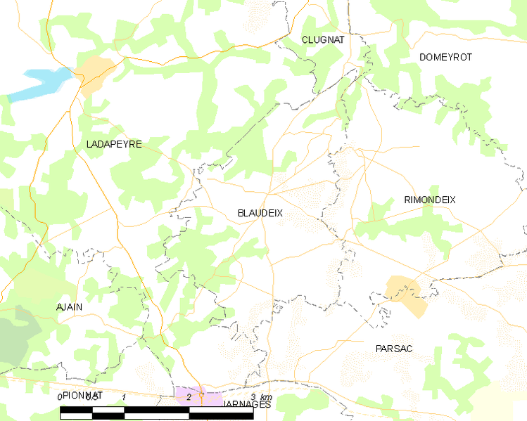 File:Map commune FR insee code 23023.png