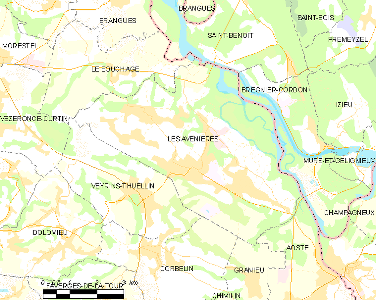 Fil:Map commune FR insee code 38022.png