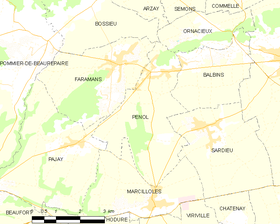 Map commune FR insee code 38300.png