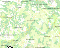 Map commune FR insee code 48146.png