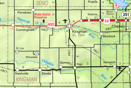 Map of Kingman Co, Ks, USA.png