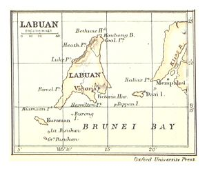 Crown Colony of Labuan - Labuan, 1888.