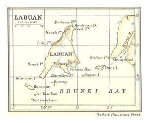 Crown Colony of Labuan - Labuan, 1888.