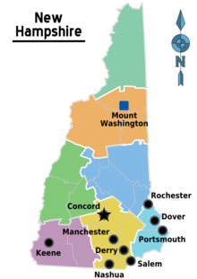 new hampshire map with cities Seacoast Region New Hampshire Wikipedia new hampshire map with cities