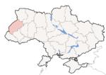 Oblast di Leopoli - Mappa di localizzazione