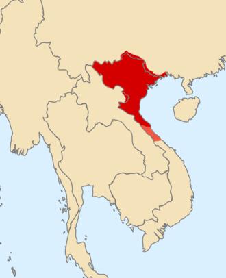 Lý dynasty - Map of the Lý dynasty
