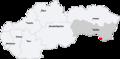 Map slovakia slovenske nove mesto.png