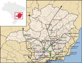 Ferrovia do Aço – Wikipédia, a enciclopédia livre f5ea55f974