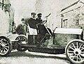 Marc Sorel sur De Dietrich, à la Coupe des Pyrénées 1905 (vainqueur).jpg
