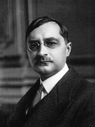 Marcel Héraud - Marcel Heraud, under-secretary to the President of the Council, 1929