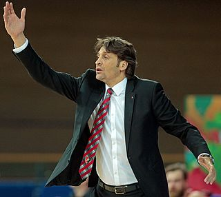 Argentine-Italian professional basketball player and coach
