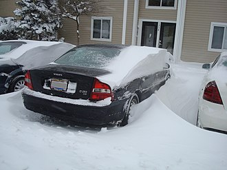 North American blizzard of 2008 - Image: March 2008Storm Drifting