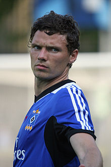 Berg On Training With Hamburger Sv