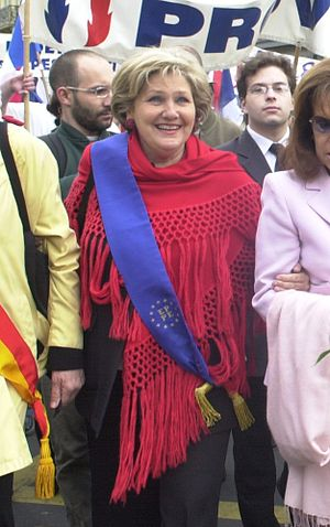 Marie-France Stirbois - Image: Marie France Stirbois 2004 1st May