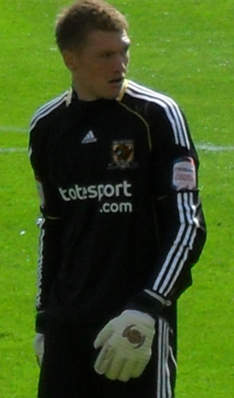 Mark Oxley - Oxley playing for Hull City in 2010