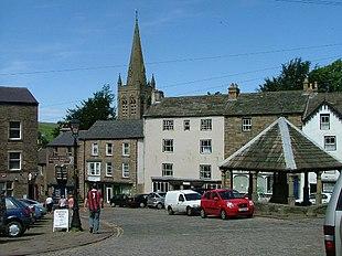 Alston town centre