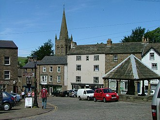Alston, Cumbria - Image: Market Cross, Alston, Cumbria (2005)