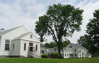 Marlboro College - The dining hall and Mather building at Marlboro College