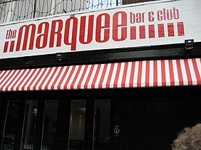 Enter to Marquee Club on Upper Saint Martins Lane Marquee Club August 2007.jpg