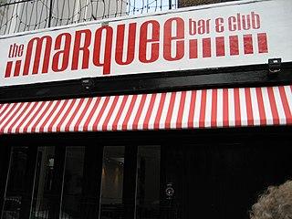 Marquee Club former music club in London, England