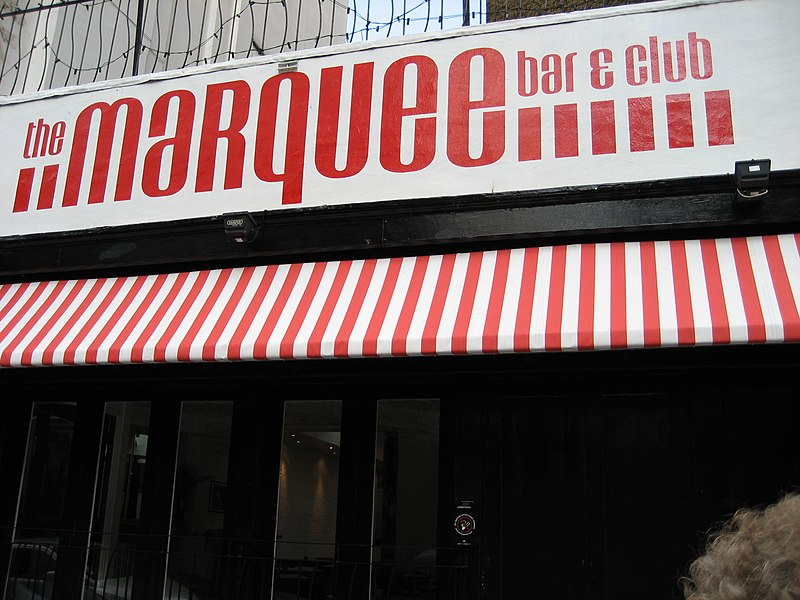 Enter to Marquee Club on Upper Saint Martins Lane