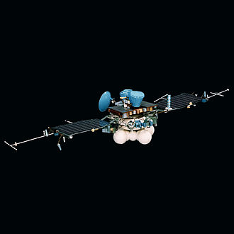 Mars 96 - Model of the Mars 96 Orbiter