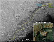 MarsCuriosityRover-TraverseMap-Sol-0746-20140911