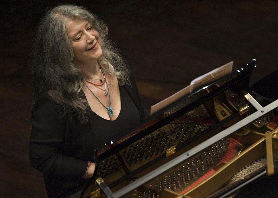 Martha Argerich concierto