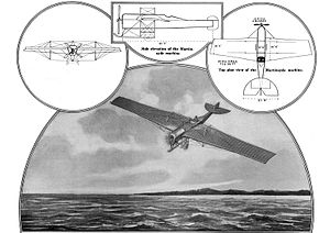"""Gustav Hamel - A cutting from Scientific American 11 July 1914, """"The eighty-mile-an-hour monoplane the late Gustav Hamel was to have used this summer in an attempt to fly across the Atlantic Ocean from North America to Europe."""""""