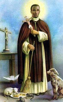 Santa Catalina de Siena / San Martín de Porres s-XX 220px-Martin-de-porres