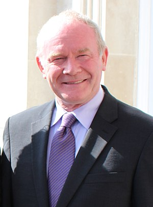 2017 in Ireland - Martin McGuinness