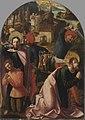 Marx Reichlich - Jakobus-Stephanus-Altar, Der hl. Jakobus tauft Josias und Hinrichtung des Jakobus - 2590 - Bavarian State Painting Collections.jpg