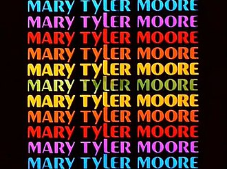 The Mary Tyler Moore Show - Title card with Peignot typeface