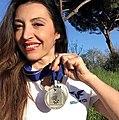 Mascia Ferri FAI silver medals.jpg