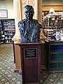 Massachusetts State House Theodore Roosevelt bust By Borglum.jpg