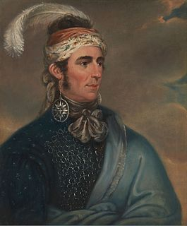 John Norton (Mohawk chief) Iroquois leader