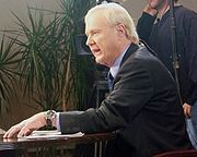 Matthews during a special edition of Hardball