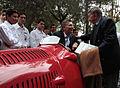 Mauricio Macri inaguró el Paseo Fangio (9727516814).jpg