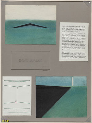 Maya Lin - Vietnam War Memorial original design submission by Maya Lin