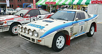Mazda Rally Team Europe - Group B Mazda RX-7