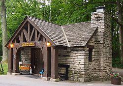 McCormick's Creek State Park Gatehouse.JPG