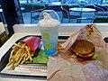 McDonald's Locomoco set (Fried potato & McFloat Blue Hawaii).jpg