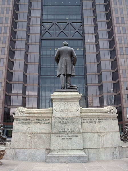 File:McKinley monument Huntington Building 2.JPG