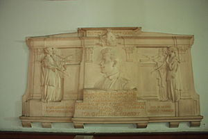 George Frampton - McLaren Memorial in St Cuthberts, Edinburgh by George Frampton